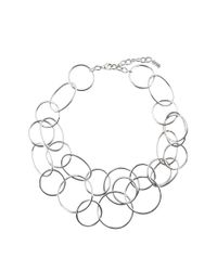 Hobbs - Metallic Anna Necklace - Lyst