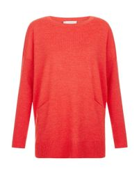 Hobbs - Red Gwen Sweater - Lyst