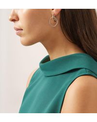 Hobbs - Metallic Mia Earrings - Lyst