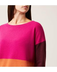 Hobbs - Pink Sofia Sweater - Lyst