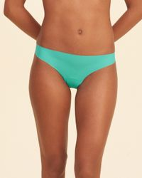 Hollister - Green Gilly Hicks No-show Thong - Lyst