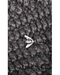 Werkstatt:münchen - Gray Knit Cap In Smoke for Men - Lyst