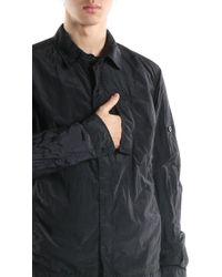 Stone Island - Light Jacket In Black for Men - Lyst