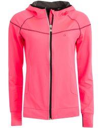 Calvin Klein - Pink Performance Tech Jacket - Lyst