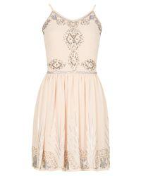 Izabel London | White Sequin Embellished Dress | Lyst