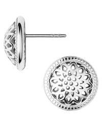 Links of London - Metallic Timeless Silver Domed Stud Earrings - Lyst
