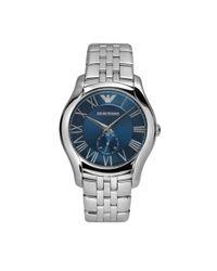Emporio Armani | Metallic Ar1789 Classic Silver Mens Bracelet Watch for Men | Lyst