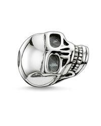 Thomas Sabo | Metallic Karma Bead Large Skull | Lyst