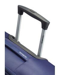 Samsonite - Auva Blue 4 Wheel Soft Medium Spinner Suitcase - Lyst