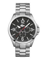 Lacoste | Metallic 42010808 Mens Bracelet Watch for Men | Lyst