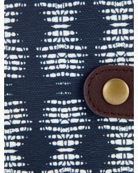Dash - Multicolor Waxed Cotton Purse - Lyst