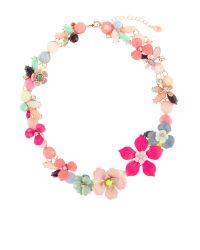 Accessorize | Pink Bethany Flower Statement Collar Necklace | Lyst