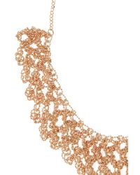 Coast - Metallic Sparkle Chain Necklace - Lyst