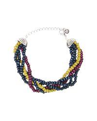 White Stuff | Blue Millie Layer Bracelet | Lyst