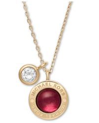Michael Kors - Metallic Mkj6220710 Ladies Necklace - Lyst