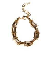 Coast - Metallic Lucia Block Bar Bracelet - Lyst