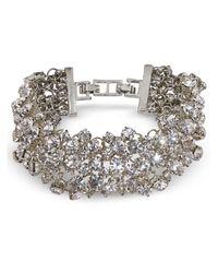 Jacques Vert | Multicolor Diamante Cluster Bracelet | Lyst
