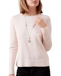 Hobbs | Metallic Savannah Long Necklace | Lyst