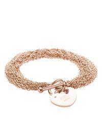Storm - Metallic Lorello Bracelet Rose Gold - Lyst