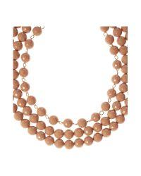 Marella   Multicolor Aceto Tiered Bead Necklace   Lyst