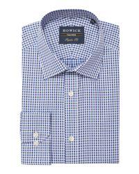 Howick - Blue Men's Belleville Gingham Twill Shirt for Men - Lyst