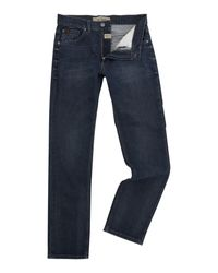 Original Penguin - Men's Slim Fit Blue Denim Jeans for Men - Lyst