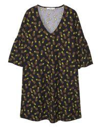 Mango | Green V-neckline Dress | Lyst