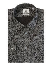 PS by Paul Smith - Black Long Sleeved Dancing People Print Shirt for Men - Lyst