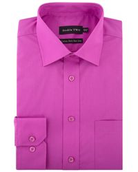 Double Two - Pink Long-sleeved Shirt for Men - Lyst