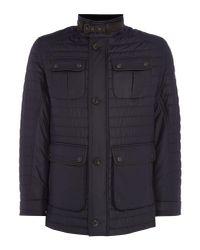 Bugatti - Blue Men's 4 Pocket Quilted Jacket for Men - Lyst