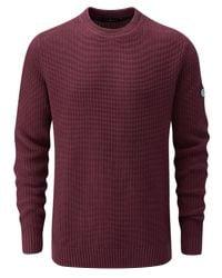Henri Lloyd - Purple Men's Stratford Regular Crew Neck Knit for Men - Lyst