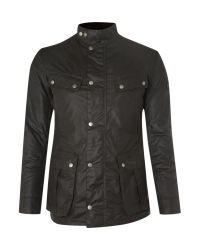 Barbour | Green Wax International Duke Jacket for Men | Lyst