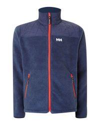 Helly Hansen   Blue October Pile Jacket for Men   Lyst