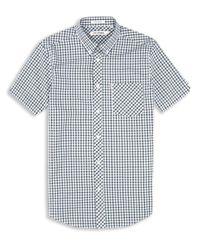 Ben Sherman | Green Heritage House Check Short Sleeve Shirt for Men | Lyst