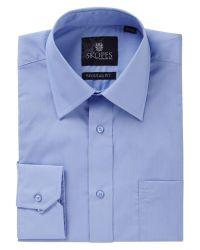Skopes   Blue Easy Care Regular Fit Long Sleeve Shirt for Men   Lyst