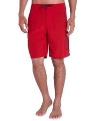 Helly Hansen | Red Hh Logo Swim Shorts for Men | Lyst