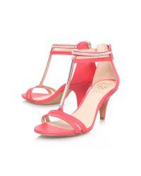 Vince Camuto | Pink Mitzy High Heel Sandals | Lyst
