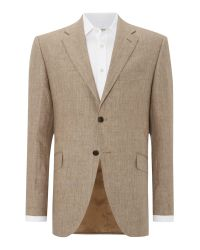 Howick   Natural Fabens Sb2 Linen Jacket for Men   Lyst