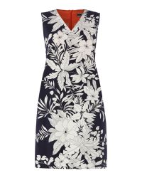 Sportmax Code | Multicolor Sleeveless Tropical Print Dress | Lyst