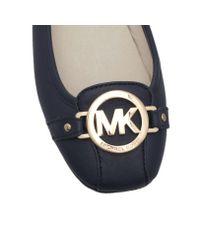 Michael Kors - Blue Fulton Moc Slip-on Shoes - Lyst