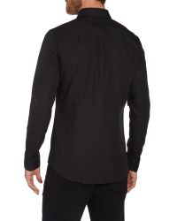 Calvin Klein - Black Wilbert Slim Fitting Shirt for Men - Lyst