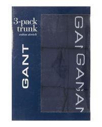 Gant - Blue Plain Trunk 3 Pack for Men - Lyst