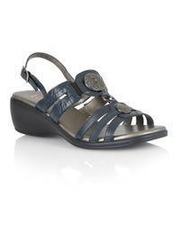 Lotus - Blue Berty Open Toe Sandals - Lyst