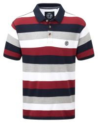 Tog 24 | Red Wells Stripe Mens Polo Shirt for Men | Lyst