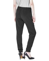 French Connection - Black Ft Darcy Drape Trouser - Lyst
