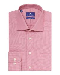 Chester Barrie | Gingham Tailored Fit Long Sleeve Shirt for Men | Lyst