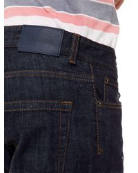 Lacoste - Blue 5 Pocket Denim Jeans for Men - Lyst