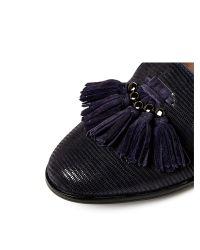 Moda In Pelle - Blue Franza Low Smart Shoes - Lyst