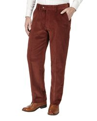 Skopes - Orange Lewis Corduroy Trouser for Men - Lyst