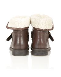 Lotus - Brown Annabeth Ankle Boots - Lyst